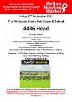 MIDLAND SHEEP FAIR BREEDING SHEEP SALE CATALOGUE 2021