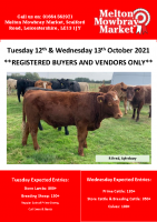 STORE CATALOGUE TUESDAY 12TH & WEDNESDAY 13TH OCTOBER 2021