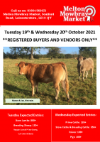 STORE CATALOGUE TUESDAY 19TH & WEDNESDAY 20TH OCTOBER 2021